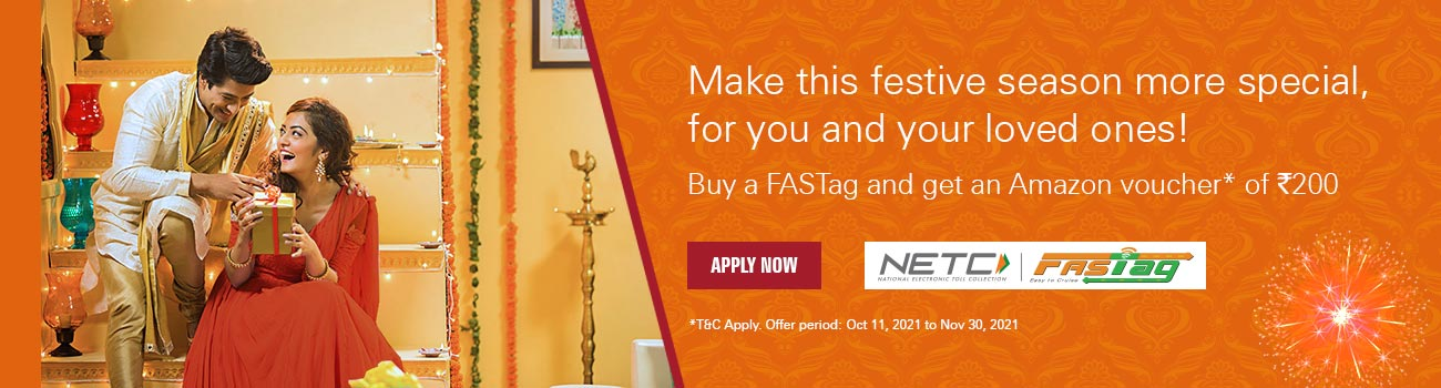 ICICI Bank FASTag Amazon offer