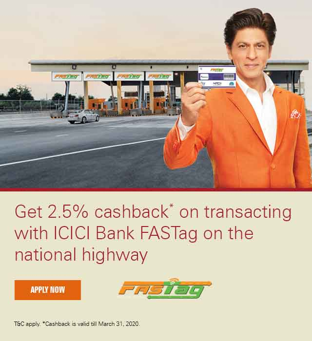 FASTag - Pay Highway Toll Online - Electronic Toll