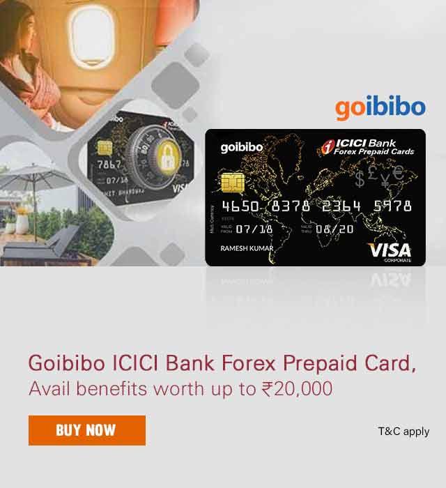 Goibibo Travel Card - ICICI Bank