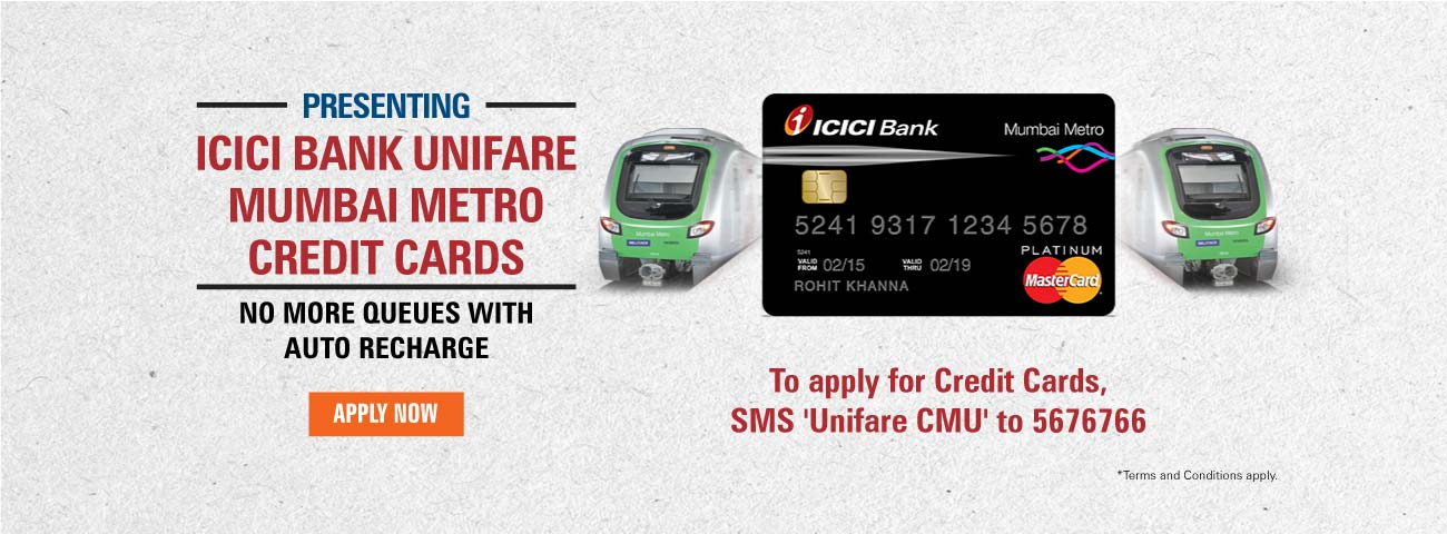 Mumbai Metro Credit Card
