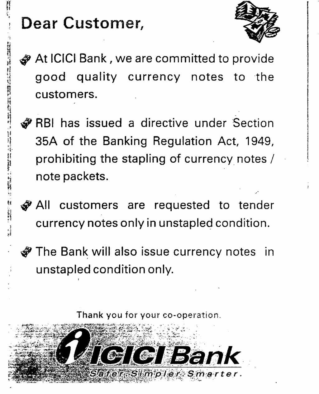 Notice Board - ICICI Bank Ltd