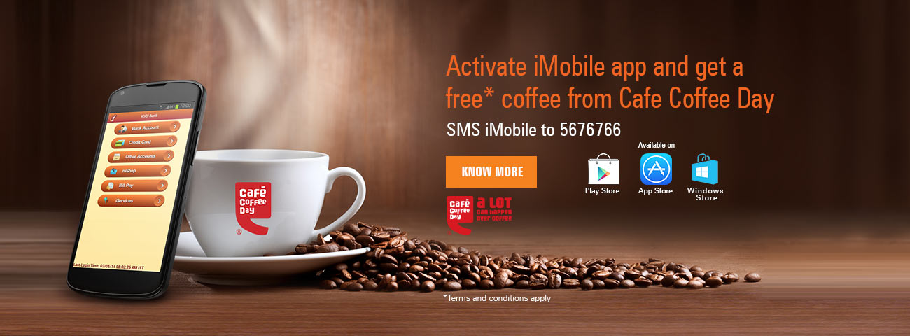 CCD Coffee with iMobile