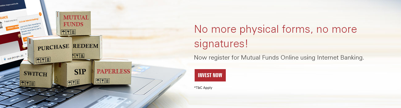 Register for Mutual Fund Online