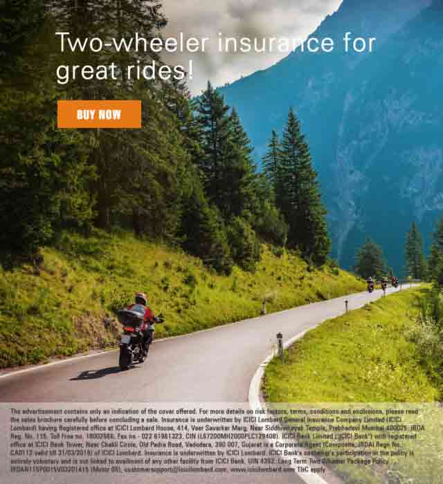 Two Wheeler Insurance: Buy / Renew Bike Insurance Online
