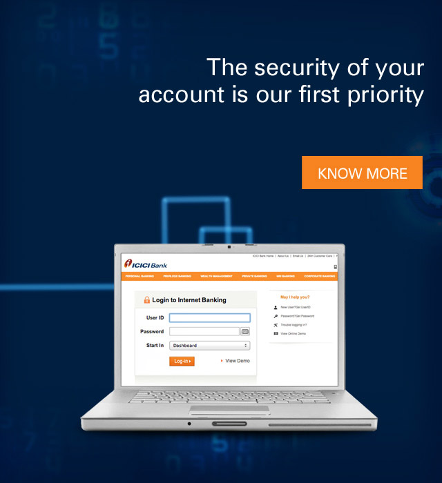 Login Troubles - Forgot Your User ID and Password - ICICI Bank