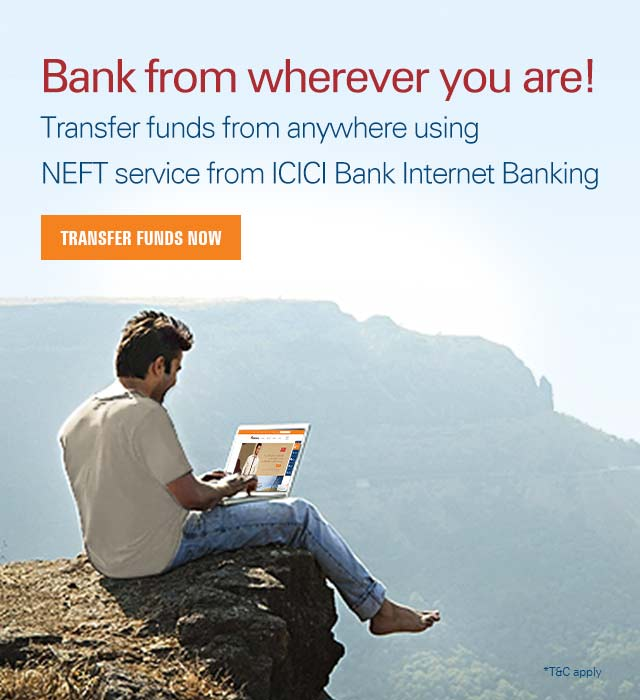 NEFT - Transfer Money Using National Electronic Funds
