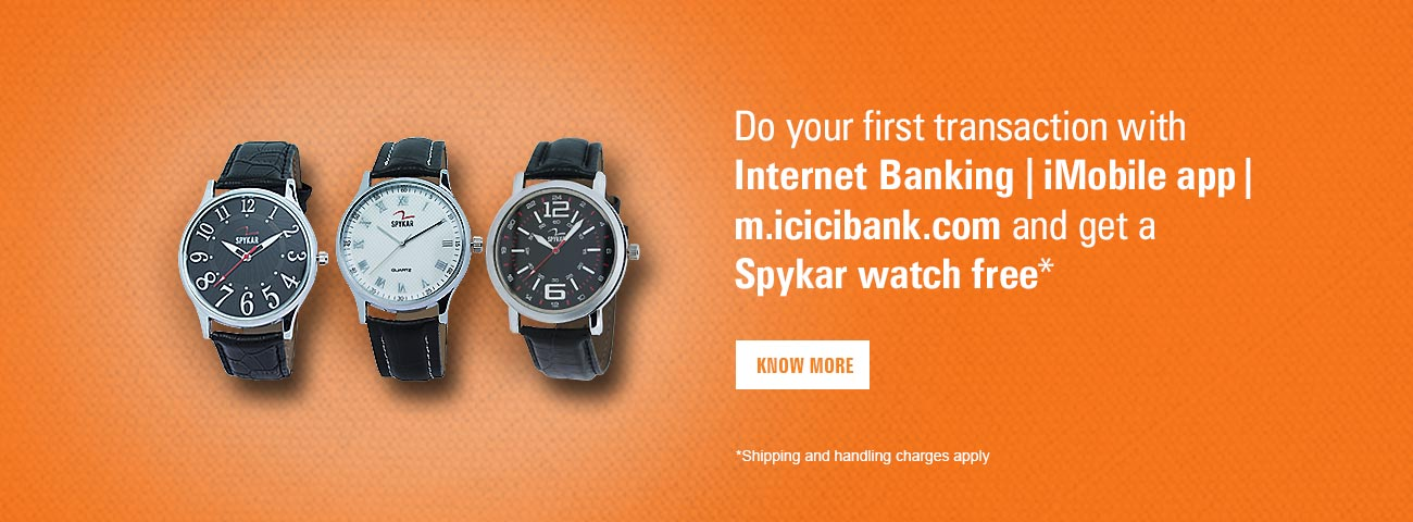 Spykar Watch Offer