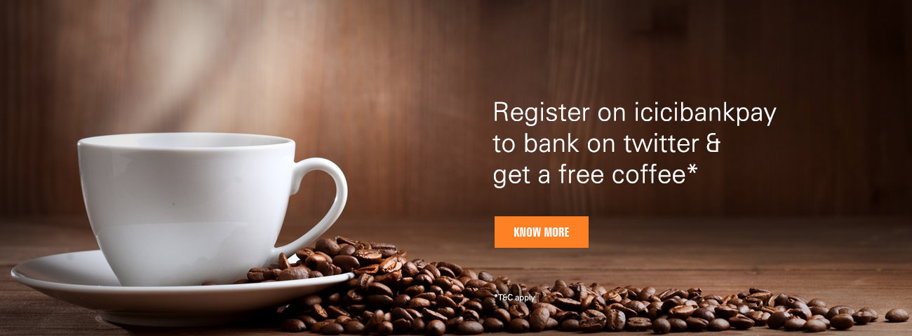 Twitter Banking Coffee Offer