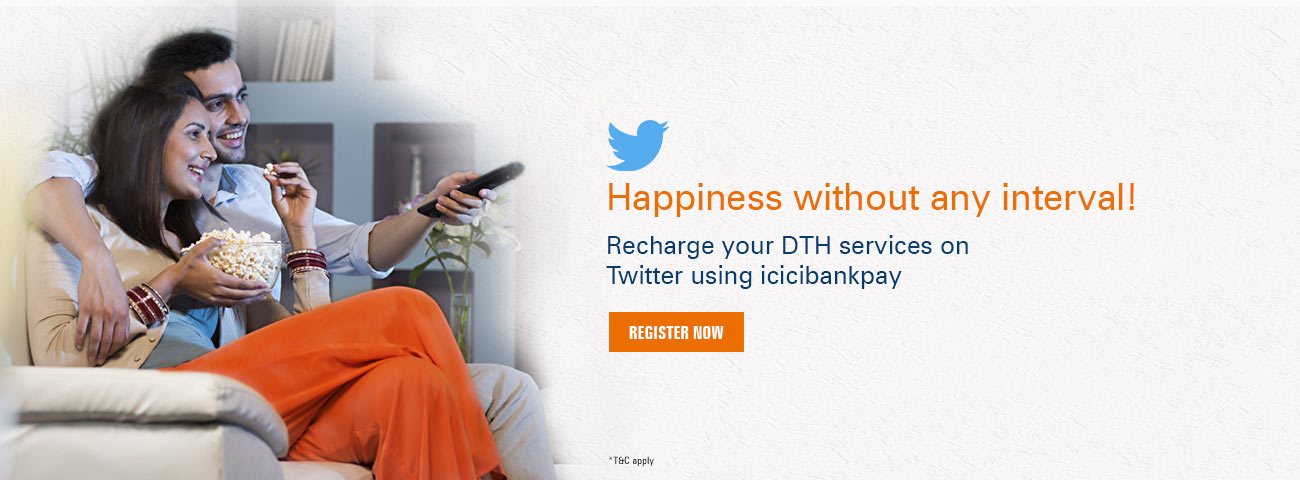 Twitter Banking DTH Offer