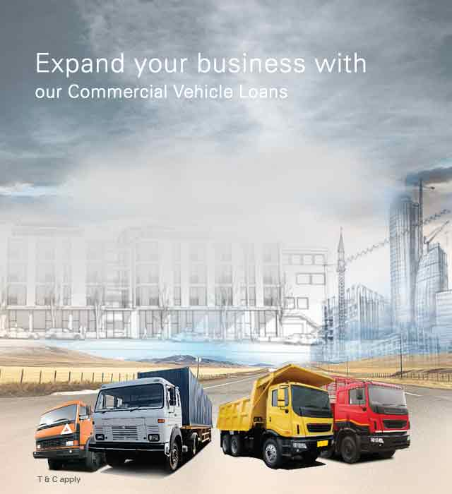Commercial Vehicle Loan - Vehicle Finance India - Commercial