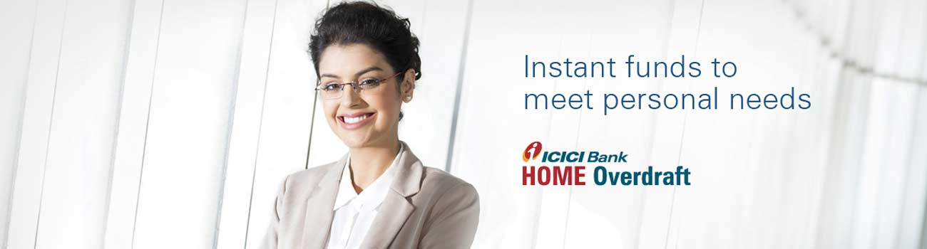 ICICI Bank Home Overdraft