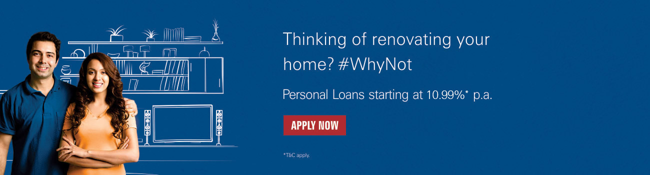 Home Renovation Loan Apne Dum Par