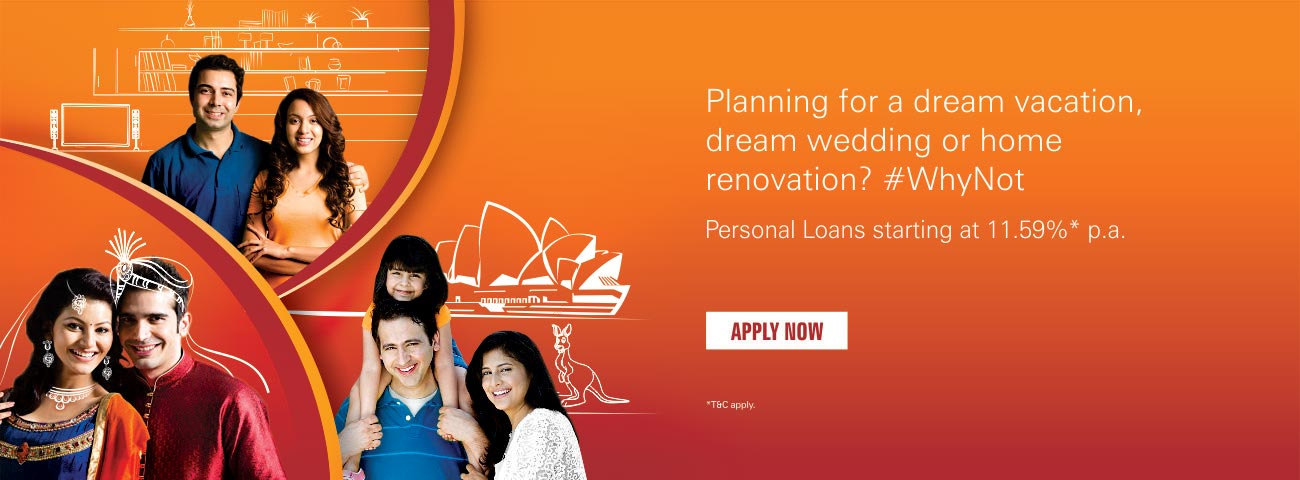 Personal loan Dream Vacation