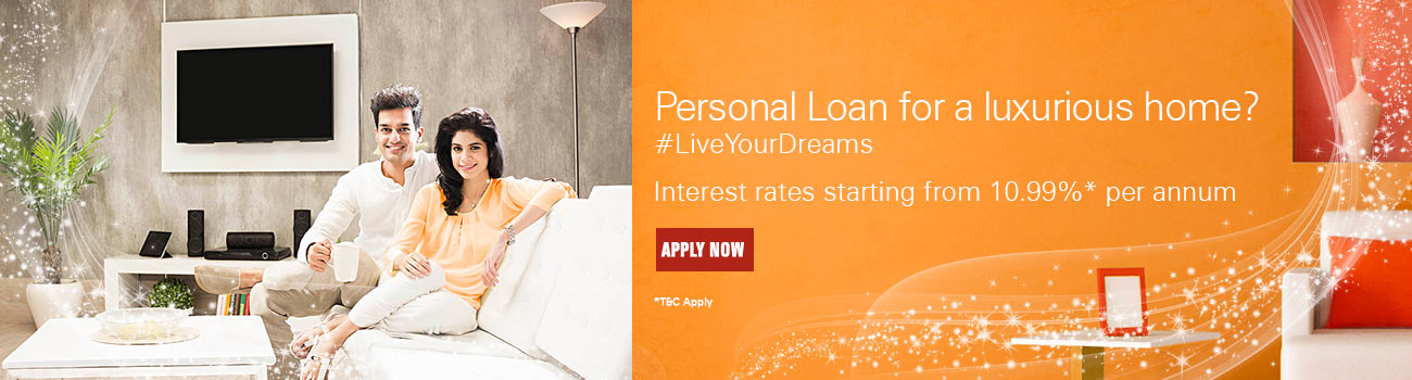 Personal Loan for Luxurious Home
