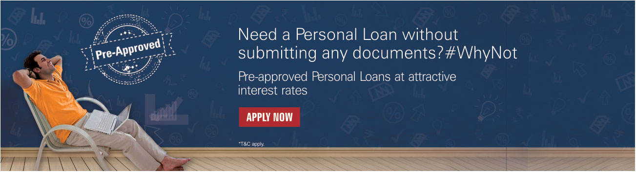 Pre-Approved Personal Loan