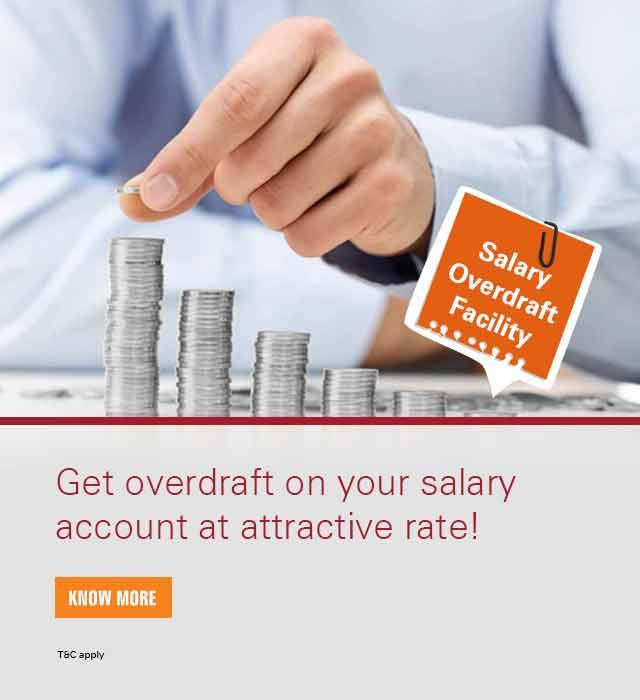 Salary Overdraft | Salary Overdraft Loan | Salary Overdraft