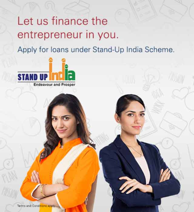 Apply for Stand up India Scheme (Finance for women, SC & ST) - ICICI