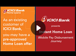 ICICI Bank Home Loans | Steps for availing Pre-approved Home Loan through iMobile