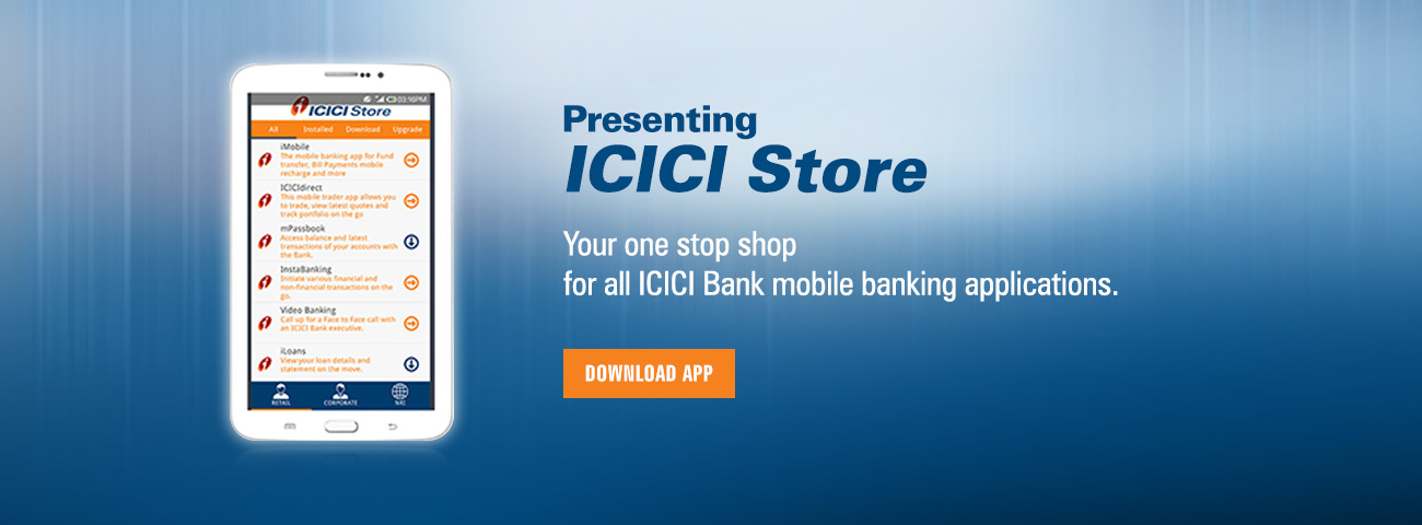icici bank mobile apps
