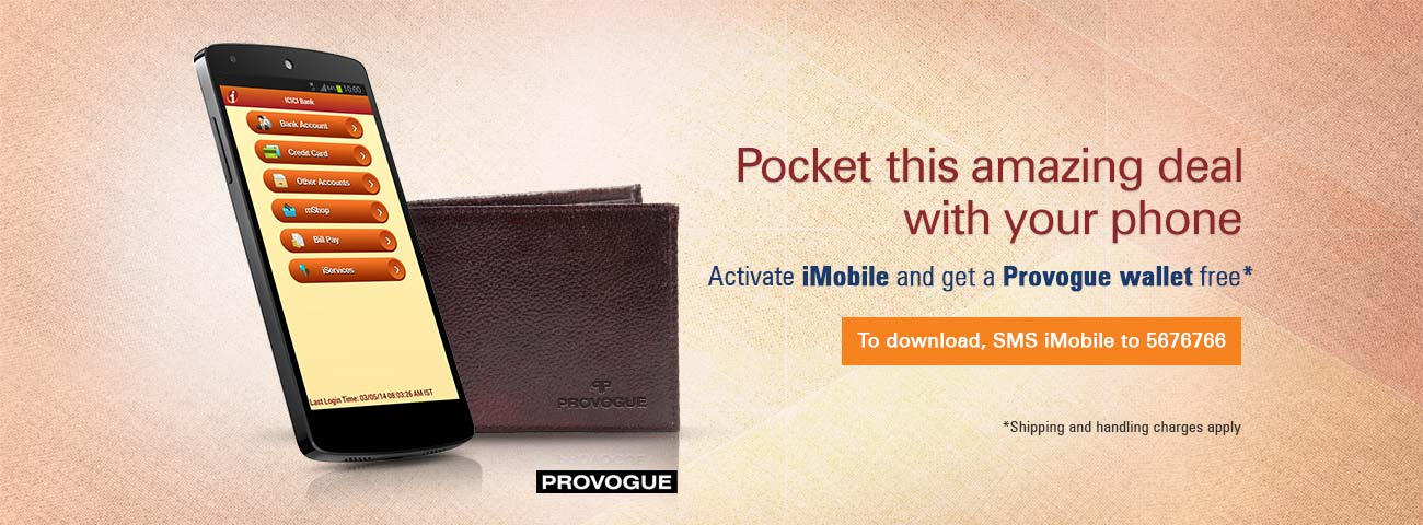 Provogue Wallet with iMobile