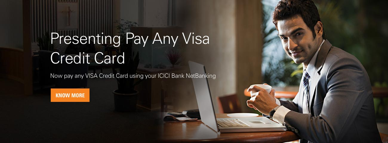 View Demo   Pay Any Visa Credit Card   Online Funds Transfer   Cash  Transfer Online   Transferring Money   ICICI Bank