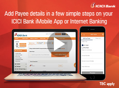 How to Add/Remove Payee using iMobile app and Internet Banking