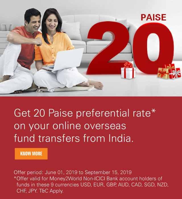 Online Outward Money Transfer