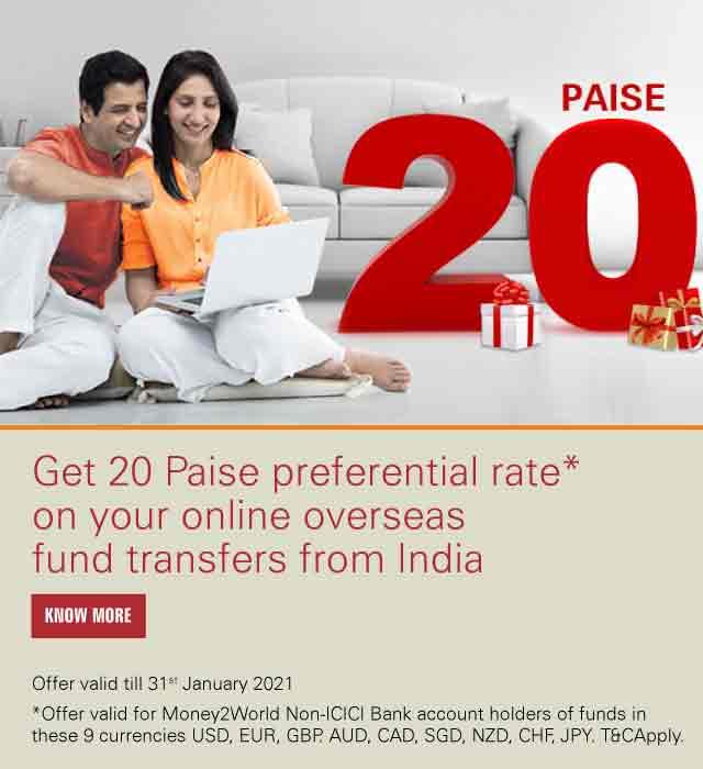 Online Outward Money Transfer on