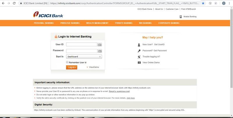 Icici Bank Statement Format View Download Benefits Paisabazaar