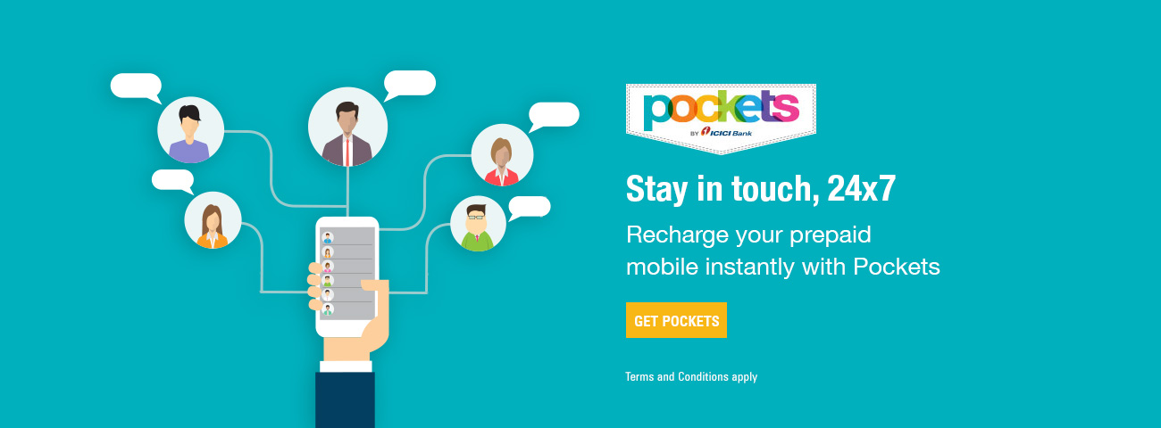 Pockets Instant Mobile Recharge
