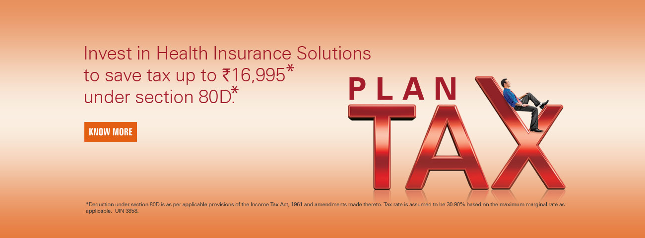 Save Tax Health Insurance