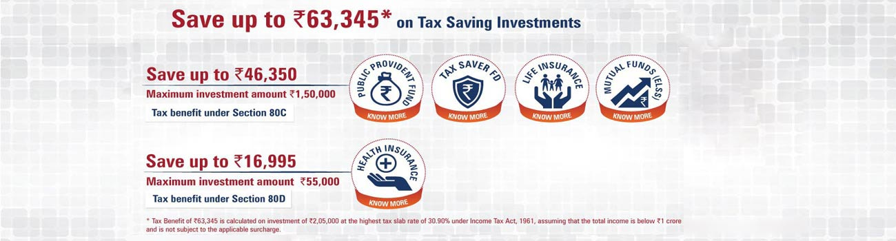 Tax Saving Investments - ICICI Bank