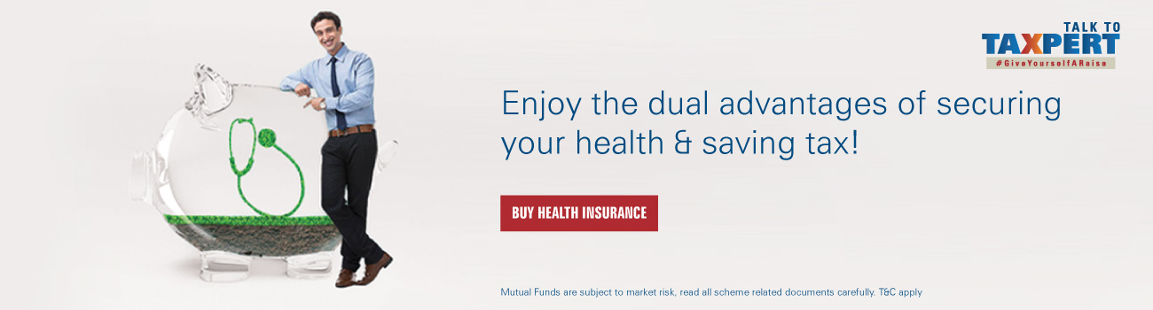 Health insurance for Saving Tax