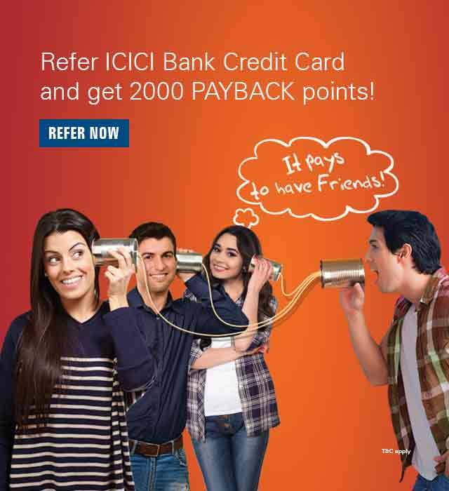 Existing Credit Card User – ICICI Bank