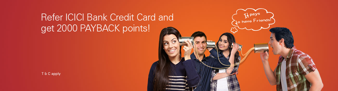 Credit Card Referral program offer