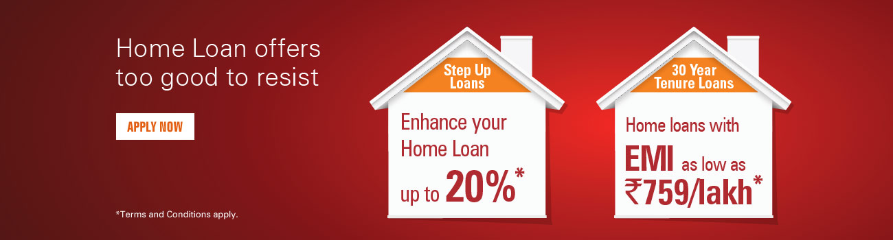 Step up home loan
