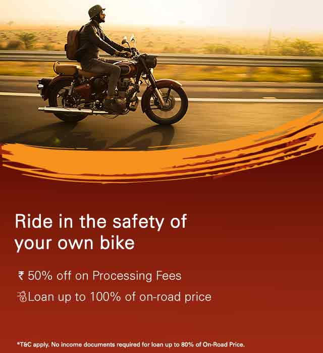 Two Wheeler Loan | 2 Wheeler Loans | Two Wheeler Finance