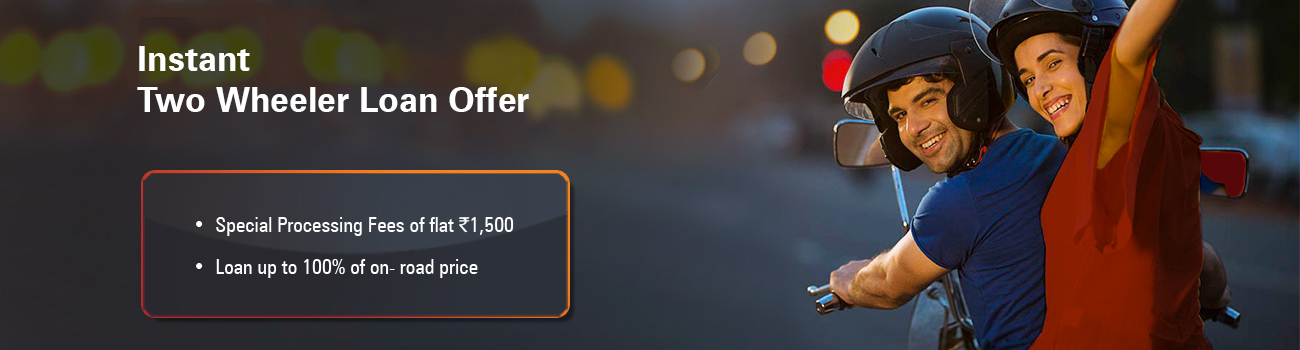 Instant Two Wheeler Loan