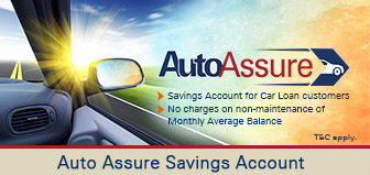 Auto Assure Savings Account