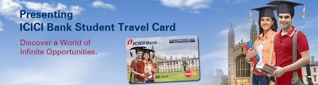 ICICI Bank Student Travel Card