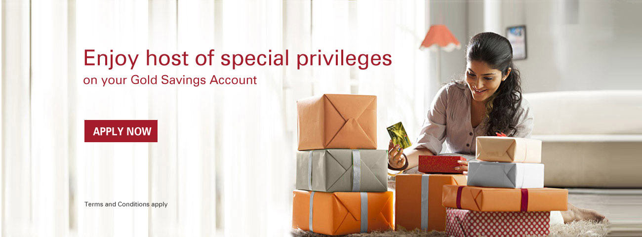 Gold Privilege Savings Account