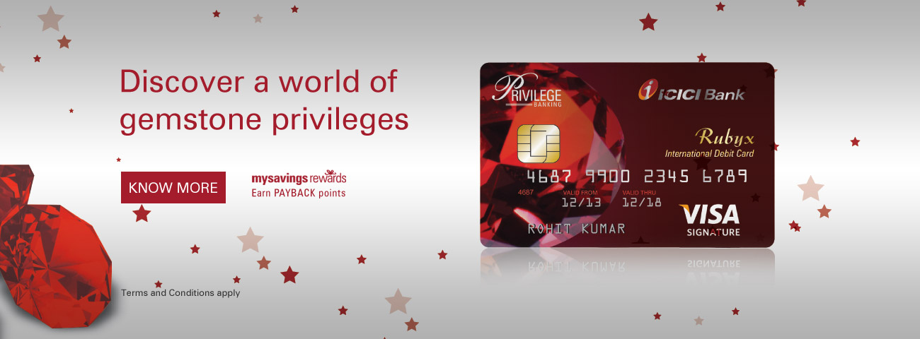 Rubyx Debit Card