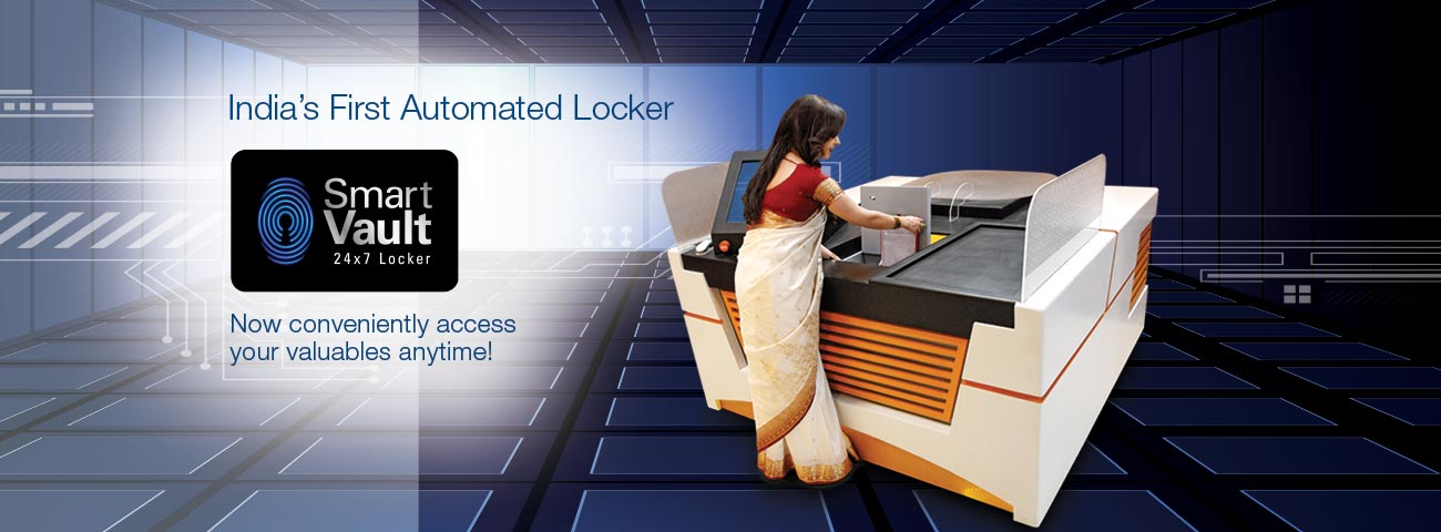 Smart Vault - India's 1st Automated Locker